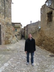 Roaming the streets of a quaint medieval town in Catalunya, near the French boarder.